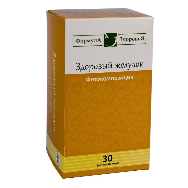 Чайный напиток, Здоровый Желудок, 30 фильтр пакетов