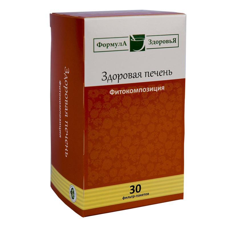 Чайный напиток, Здоровая Печень, 30 фильтр пакетов