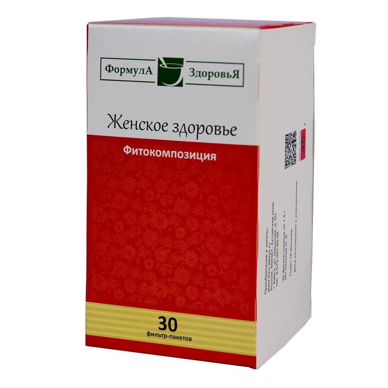 Чайный напиток, Женское здоровье, 30 фильтр пакетов