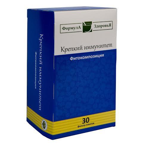 Чайный напиток, Крепкий Иммунитет, 30 фильтр пакетов