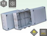 Коробка распаячная для открытого монтажа с резиновыми вводами, фото 1