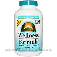 Активатор имунитета. Оздоровительная формула, с андрографисом и прополисом. (Wellness Formula), 180 таблеток,