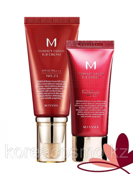 MISSHA Perfect Cover BB Cream SPF42/PA+++, 20мл