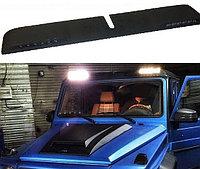 Накладка на крышу с ходовыми огнями LED для Benz G-class, фото 1