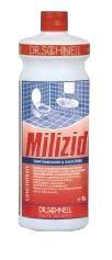 Очиститель ванных комнат  MILIZID 1л (1:400)
