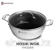 "Сковорода ""WOK"" Hoshi ORIGINAL JAPAN INOX STEEL"