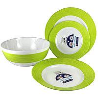Столовый сервиз Luminarc Colors Day Green 19 предметов на 6 персон