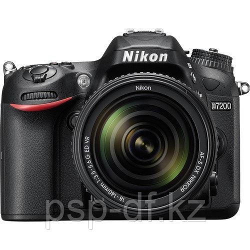 Фотоаппарат Nikon D7200 kit AF-S DX 18-140mm f/3.5-5.6G ED VR
