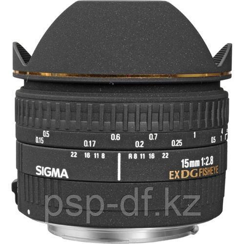 Объектив Sigma 15mm f/2.8 EX DG Diagonal Fisheye