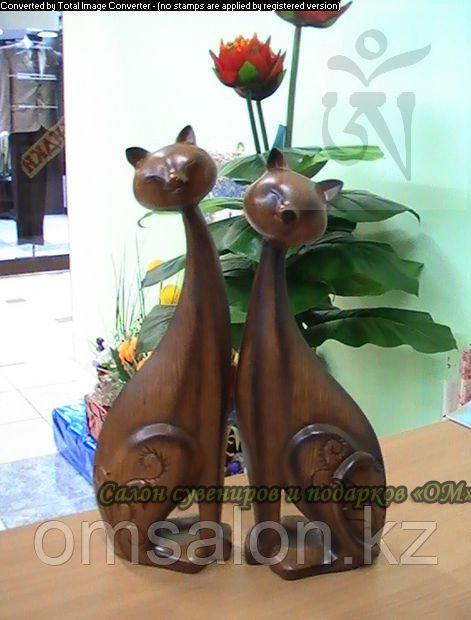 Кошка деревянная