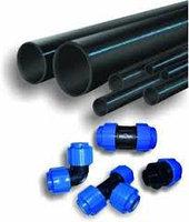 Пластиковая труба ф200*9,6   8МПа