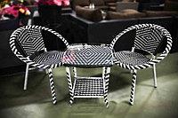 Набор мебели, стол + 2 кресла, фото 1