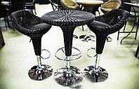 Набор мебели, барный (ротанг), фото 1