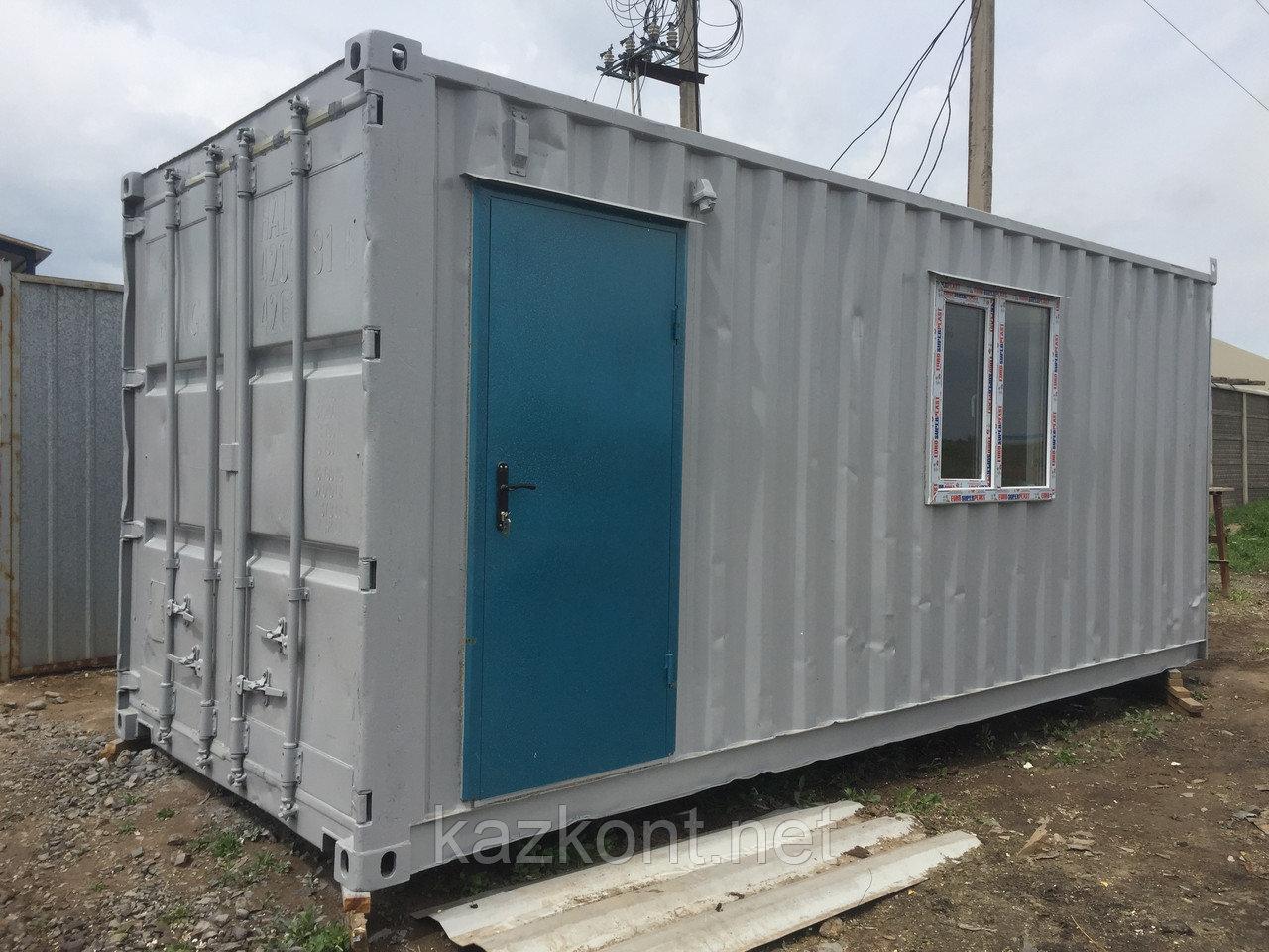 Строительные вагончики (утепленный 20ф контейнер)