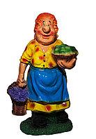 """Статуэтка """"Бабушка с цветами и яблоками"""", 65 см"""