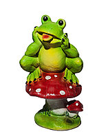 "Статуэтка ""Лягушка на грибе"", 42 см"