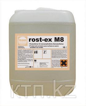 Удалитель ржавчины с каменных покрытий ROST-EX M8 1л (готовый раствор)