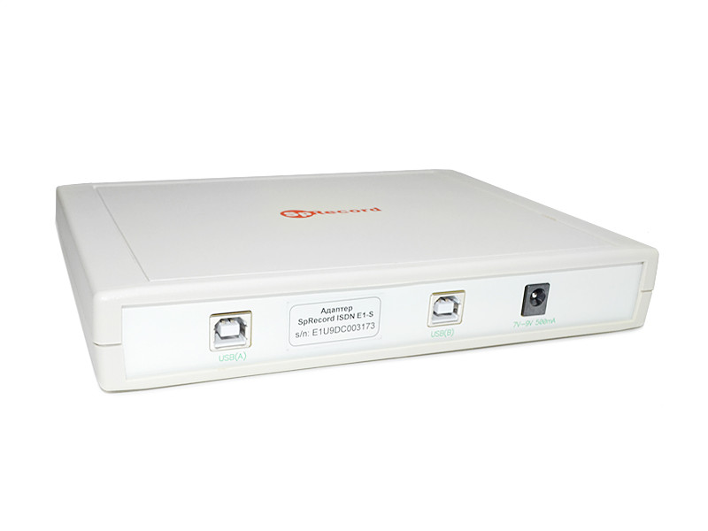 Запись телефонных разговоров SpRecord ISDN E1-S