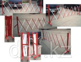 Раздвижной переносной  барьер на колесах 5 метров