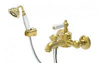 Смеситель для ванны Bravat Art  F675109G-В (золото)