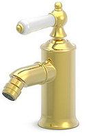 Смеситель для биде Bravat Art F375109G (золото)