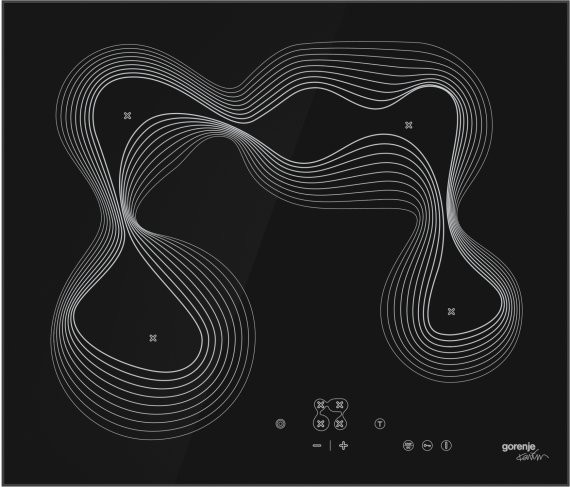 Стеклокерамическая варочная панель GORENJE-BI  ECT680KRB