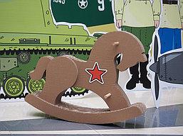 """Праздничная фото зона, пресс стена к 9 Мая в """"Мега Центр Алматы"""" 2"""