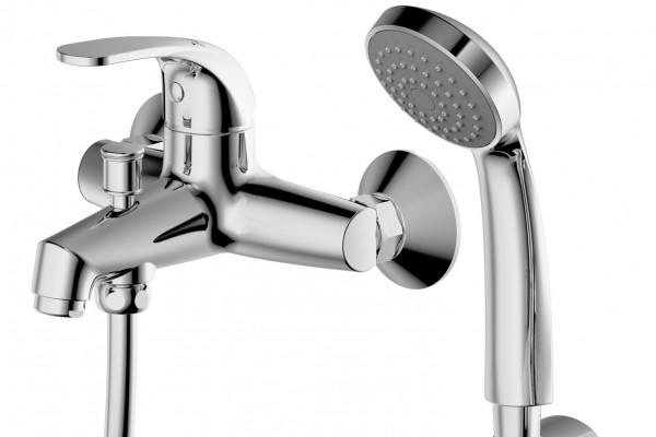 Смеситель для ванны Bravat FIT F6135188СР-В-RUS