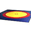 Ковер борцовский трехцветный с покрышкой, толщина матов НПЭ 5 см (комплект), фото 2