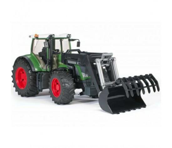Bruder Игрушечный Трактор Fendt 936 Vario с погрузчиком (Брудер)
