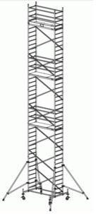 Передвижная вышка-тура ProTec, рабочая высота 12,3м