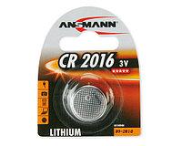 Батарейки CR 2016 ANSMANN 3V