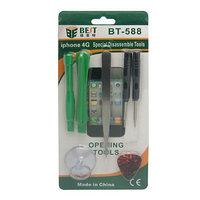 Набор инструментов для ремонта iPhone 4/4S/5/5S/5C/6 BEST BST-588, фото 1