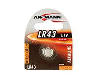 Кнопочный элемент питания ANSMANN LR43 Premium