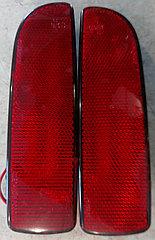 Катафоты заднего бампера диодные Приора седан