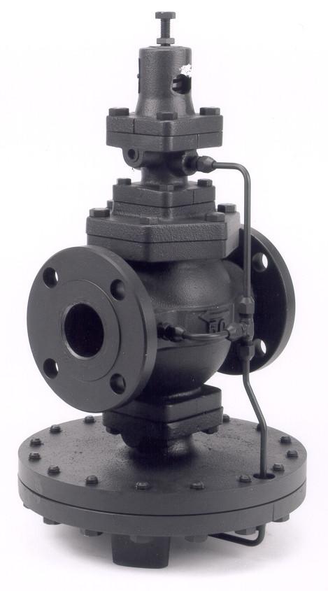 Редукционный клапан для пара, прямого действия DN40, фланцевый