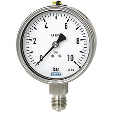 Механические средства измерения давления