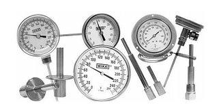 Механические средства измерения температуры