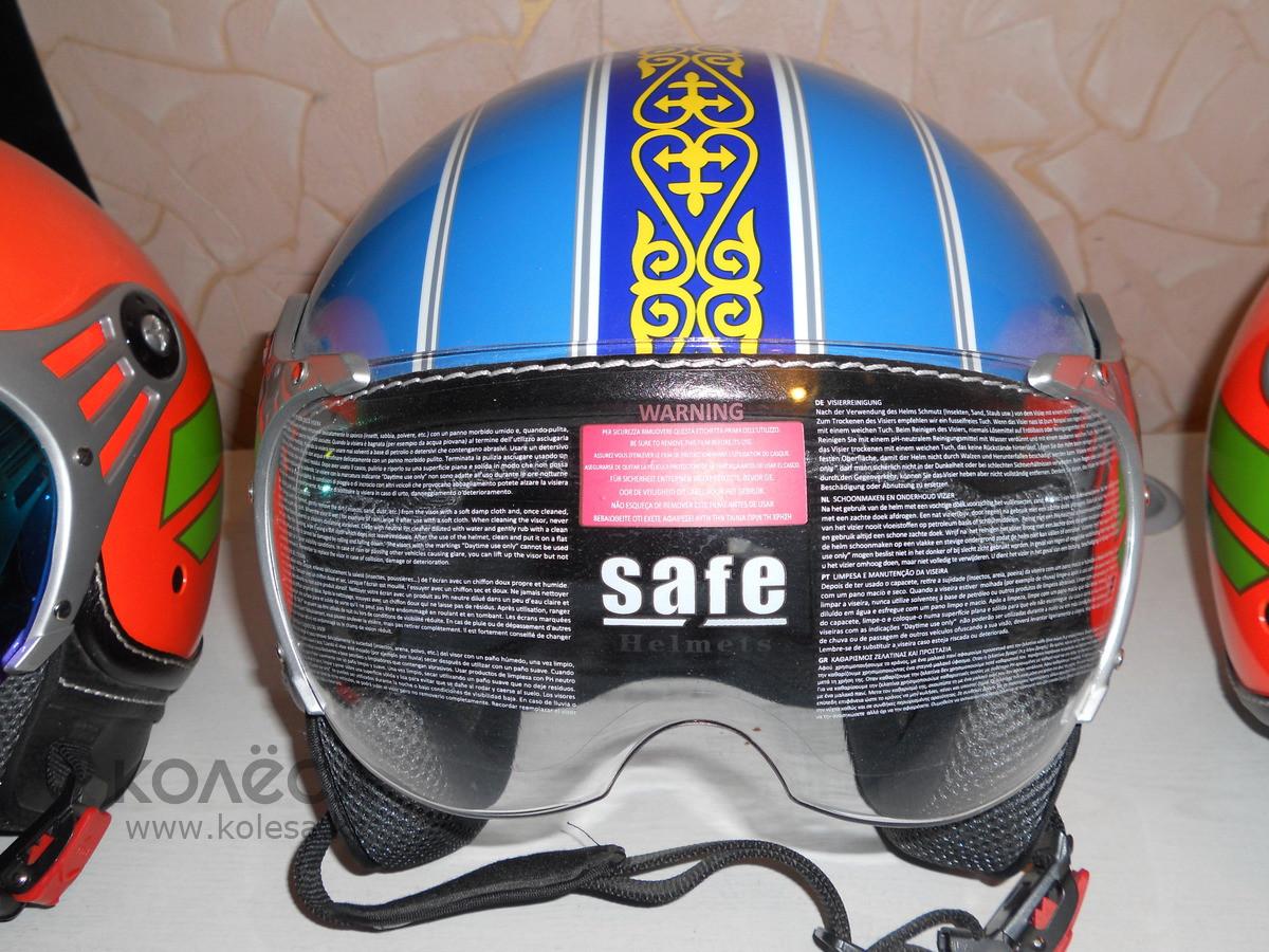 Шлем с визором открытый без подбородника - фото 6