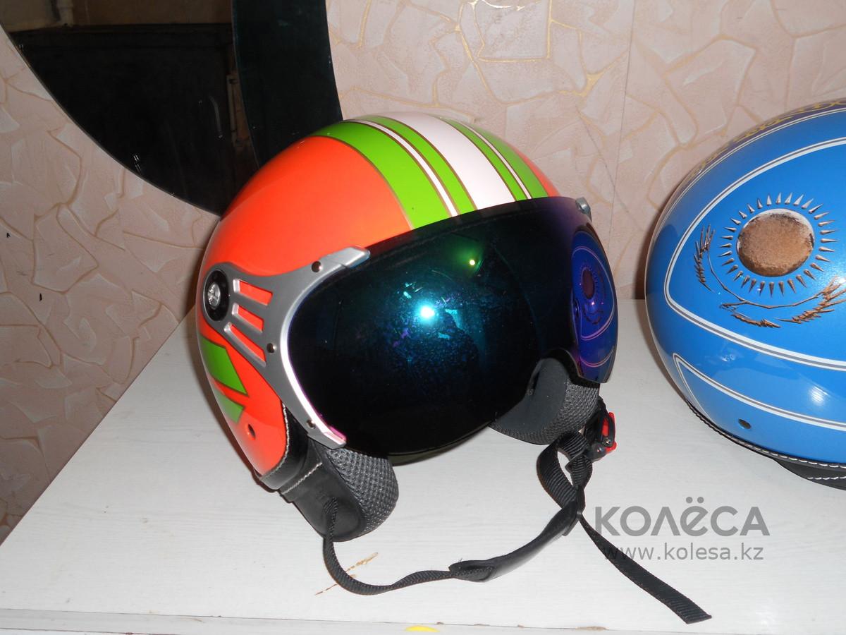 Шлем с визором открытый без подбородника - фото 7