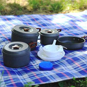 наборы туристической посуды
