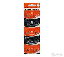 Батарейка MINAMOTO AG1, LR60, LR621, 364. 164