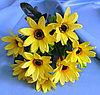 Букет желтых ромашковидных хризантем (искусственный)