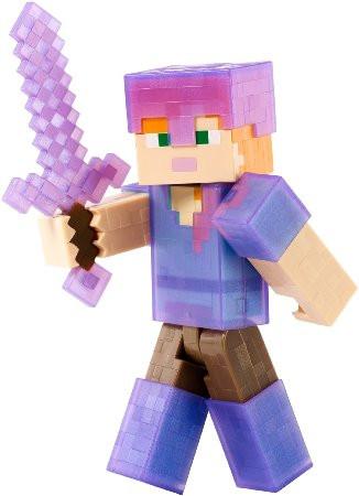 Minecraft Алекс с комплектом брони (15 см)