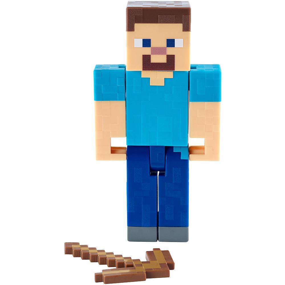 Minecraft Стив с киркой (15 см)