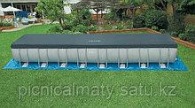 Каркасный бассейн INTEX 28372 (54990) ULTRA FRAME POOL (975Х488Х132)(песочный фильтр)