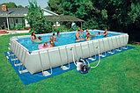 Каркасный бассейн INTEX 28372 (54990) ULTRA FRAME POOL (975Х488Х132)(песочный фильтр), фото 2