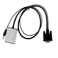 Конвертeр VGA на HDMI (Кабель) (Видео аудио конвертер VGA на HDMI в HD, HDTV 1080P.)