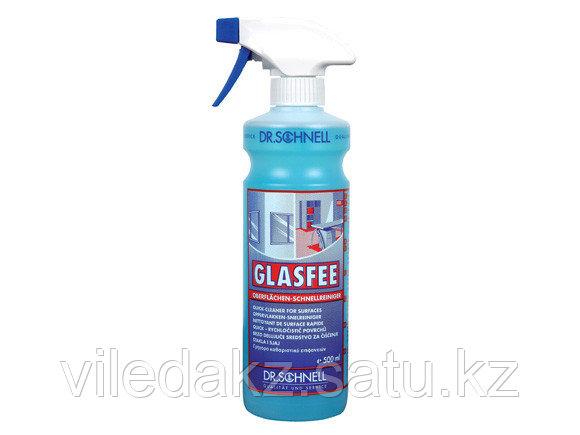 """""""Glasfee"""" Спиртовой очиститель для всех стеклянных и зеркальных поверхностей 1 л"""