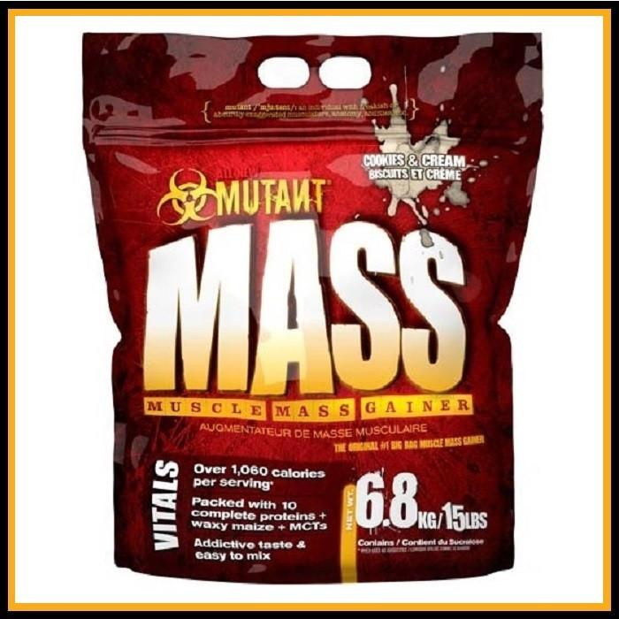MUTANT Mass 2,3кг (печенье со сливками)